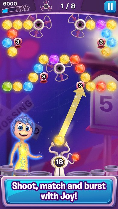 Screenshots of Inside Out Thought Bubbles for iPhone
