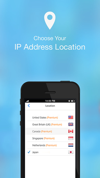 VPN in Touch -  Free VPN Proxy to Access Any Sites for iPhone and iPad, WiFi Hotspot Security Screenshots