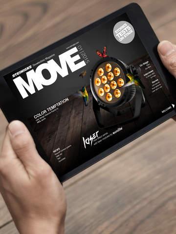 MOVE - The Steinigke Showtechnic magazine 01 15