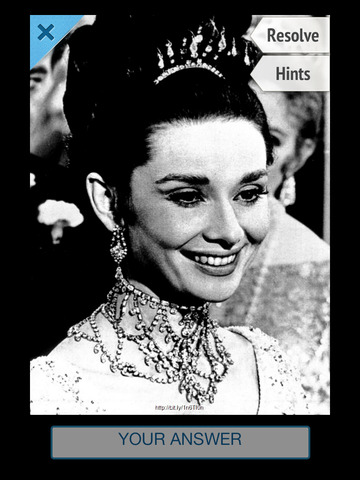 Word Pic Quiz Classic Old Hollywood - Guess Famous Faces from the Golden Age of  Cinema screenshot
