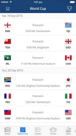 Rugby WC 2015
