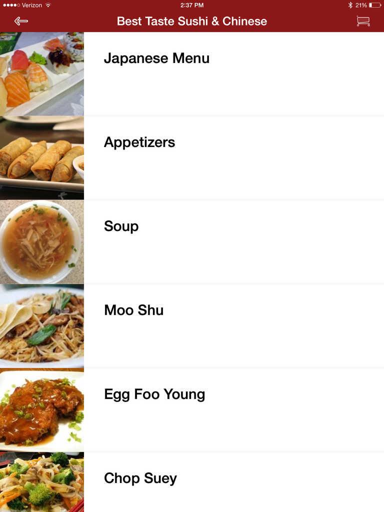App Shopper: Best Taste Sushi & Chinese (Food & Drink)