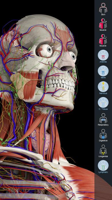 Essential Anatomy 5 Apps for iPhone/iPad screenshot