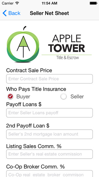 Apple Tower Title Escrow