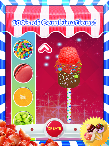 A Delicious Creamy Candy Pop Salon - Amusing Free Holiday Goody Inventor-ipad-2