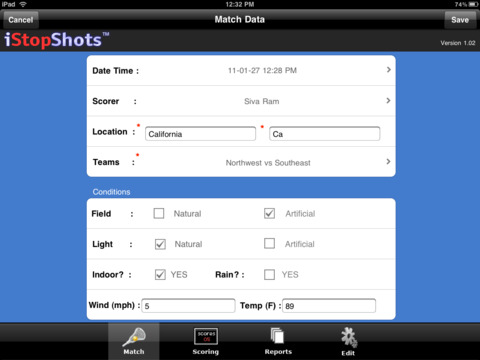 iStopShots™ iPad Screenshot 2