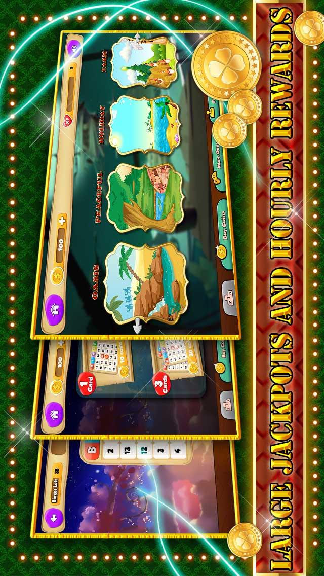 Screenshot 1 Ace Бинго Paradise — Взрыв Мировой Топ Fun Blingo HD