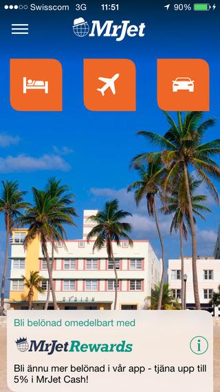 MrJet Travel: Hotels Flights Cars