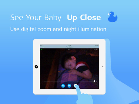 Sound Sleeper: Wi-Fi Video Baby Monitor screenshot