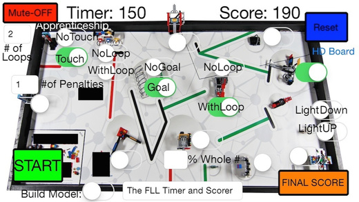 FLL 2014 Robot Game Timer and Score Keeper