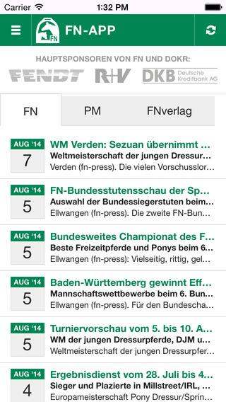 FN iPhone Screenshot 1