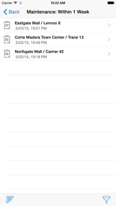 HVAC Equipment Locator iPhone Screenshot 4