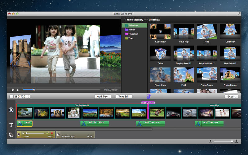 Photo Movie Maker - Slideshow Screenshot - 2