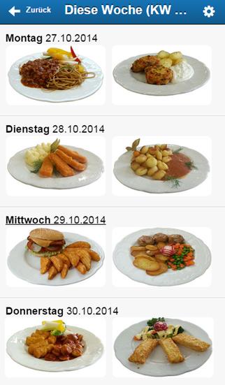 Menü-Catering