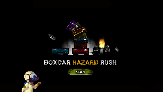 Boxcar Hazard Rush - Flying Escape Challenge
