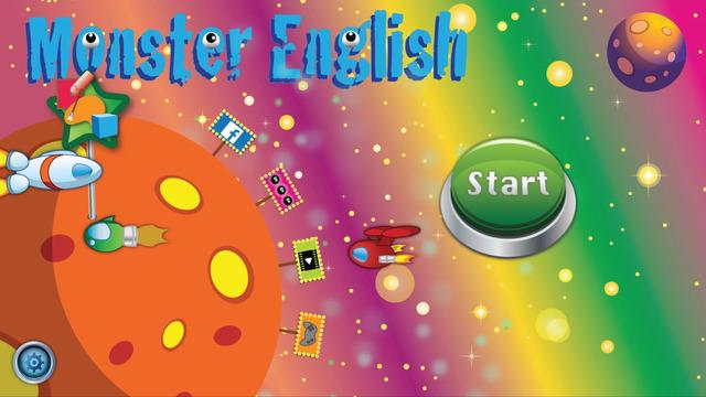 Monster English - Color Shape Game