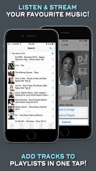 Musify Pro - Free Music Streamer and Mp3 Player for Jamendo®.