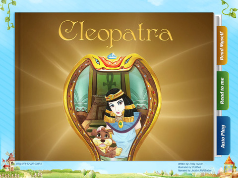 Cleopatra - Have fun with Pickatale while learning how to read