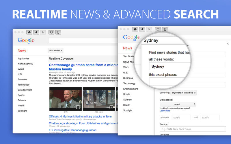 News for Google News Screenshot - 4