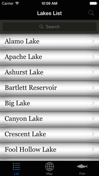 Arizona Lakes - Fishing