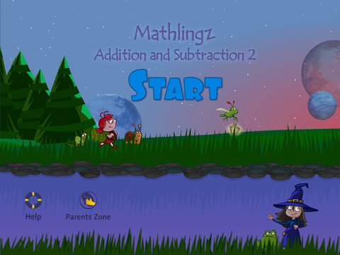 Mathlingz Addition and Subtraction 2 - Fun Educational Math App for Kids Easy Mathematics
