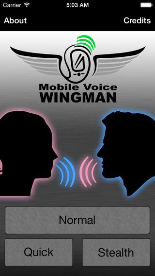 Mobile Voice Wingman