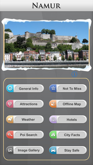 Namur Offline Map Travel Explorer