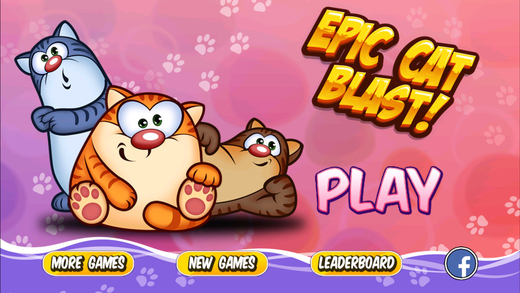 Epic Cat Blast Mania - Puzzle Jelly games for kids HD Edition for free