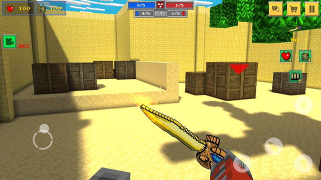 Block Shooter 3D- Mini Survival Game with Multiplayer