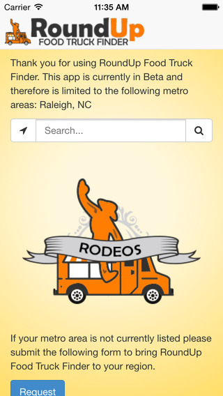 RoundUp Food Truck Finder
