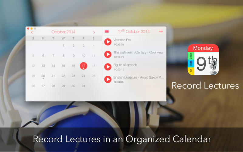 Record Lectures Screenshot - 1