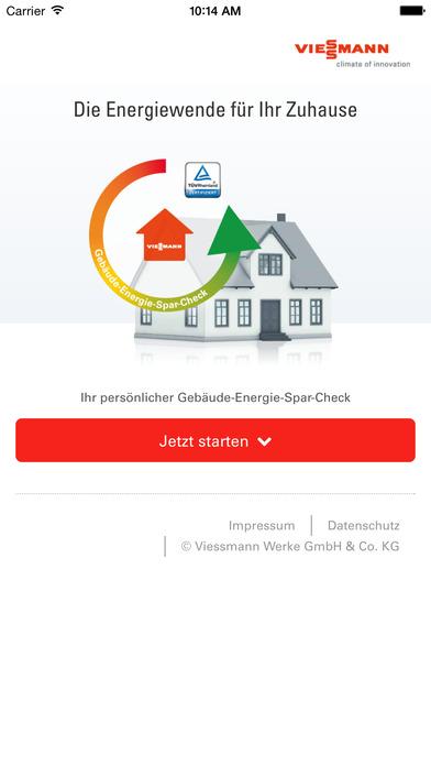 Energie-Spar-Check iPhone Screenshot 1