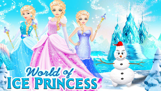 Ice Princess Room Makeover World - Design Doll House Game