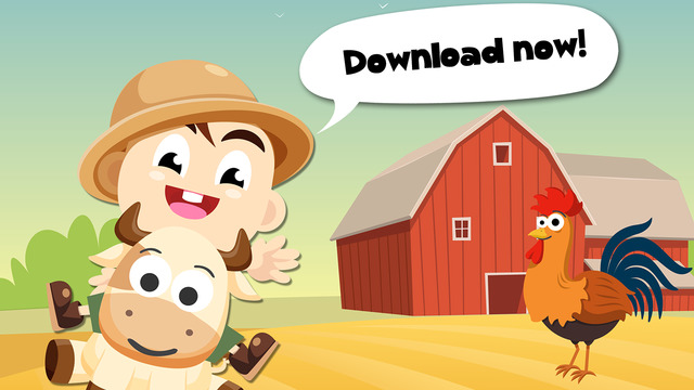 Baby Tommy Farm Animals Cartoon Free