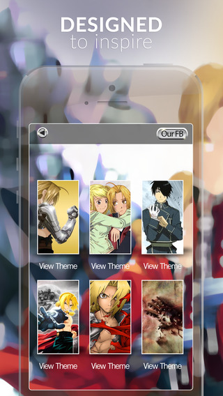 Manga Anime Gallery : HD Retina Wallpaper Themes and Backgrounds in Fullmetal Alchemist Style