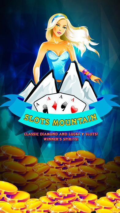 Slots Mountain - Classic diamond and lucky 7 slots Winner's Spirit Pro