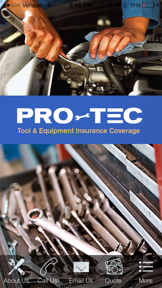 Pro-TEC Tool and Equipment Insurance Coverage