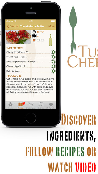 Tuscan Chef - All recipes from Italian tradition