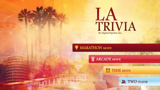 City of Los Angeles Trivia