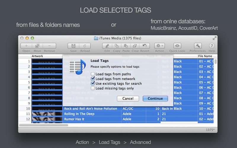 Tag Editor Free Screenshot - 2