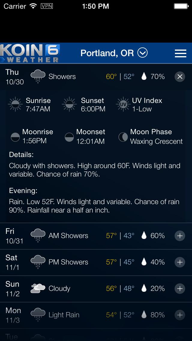 PDX Weather - Portland Radar & Forecasts
