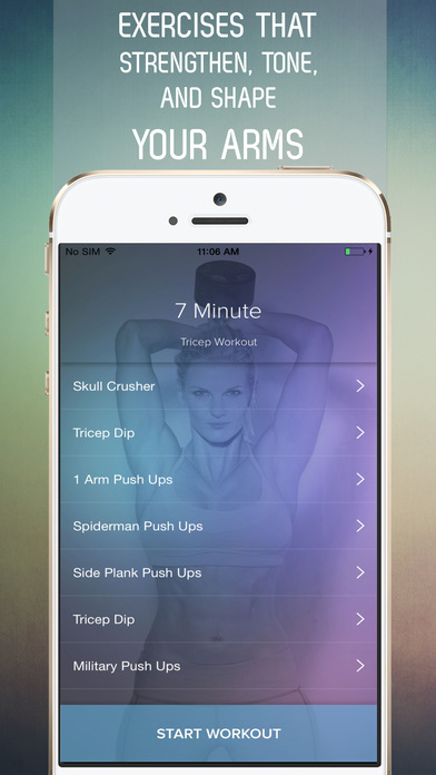download 7 Minute Tricep Workout for Arm Toning apps 4