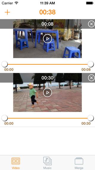 InstaVideo Plus - Splice Merge Video with Audio for Instagram Multi-Cloud Stored