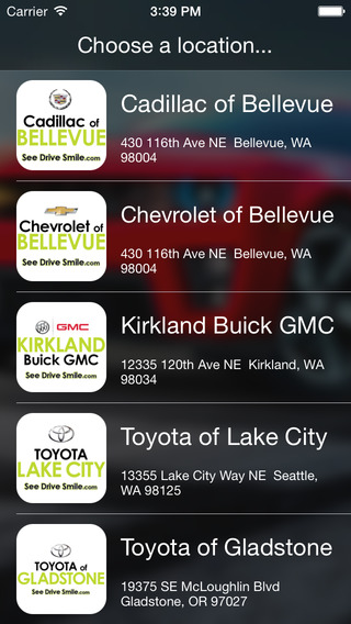 See.Drive.Smile. DealerApp
