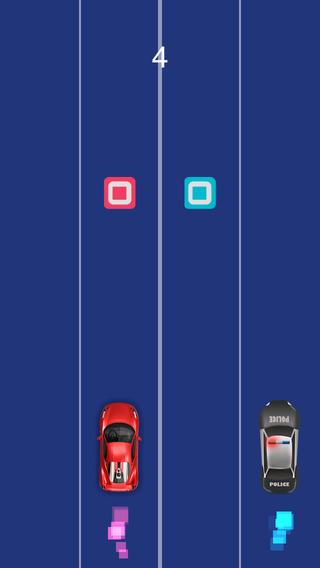 Police Racing Lanes