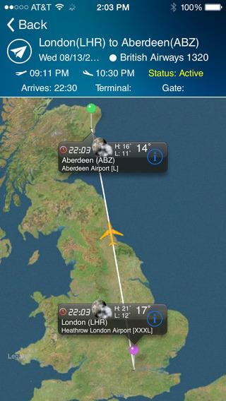 Aberdeen Airport-Flight Tracker Premium