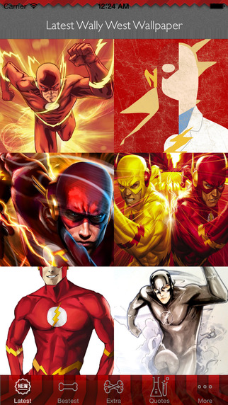 HD Wallpapers for Wally West: Best Hero Theme Artworks Collection