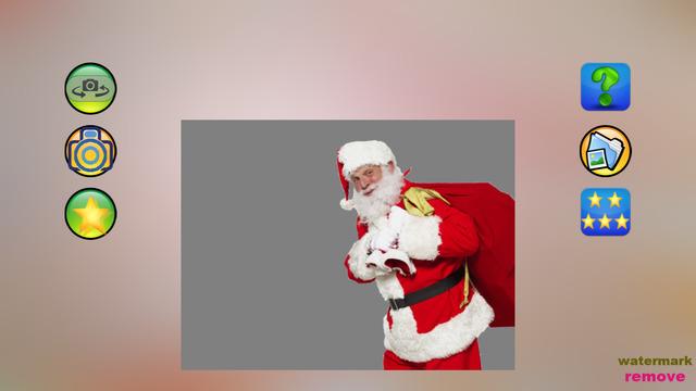 Christmas camera --- take photo with Santa Claus
