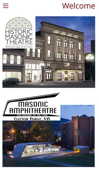 Historic Masonic Theatre and Amphitheatre