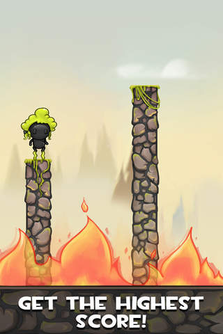 Stickyman Hop PRO screenshot 3